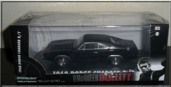 Bullitt Steve McQueen 1968 Dodge Charger R/T 1:43 scale Vehicle Greenlight